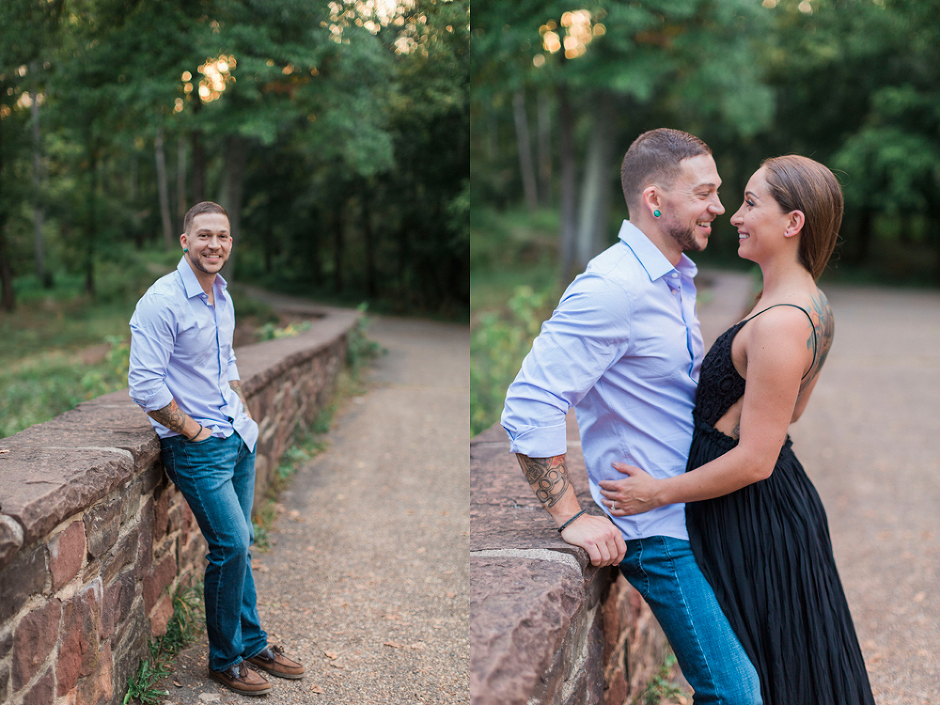 Stone Bridge Virginia Engagement Session | www.meganannphoto.com